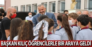 Başkan Kılıç Öğrencilerle Bir Araya Geldi