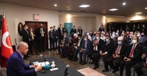 Erdoğan, ABD'de müslümanları dinledi