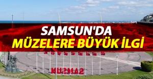 Samsun'da Müzelere Büyük İlgi