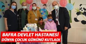 Bafra Devlet Hastanesi Dünya Çocuk Gününü kutladı