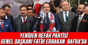 Yeniden Refah Partisi Genel Başkanı...