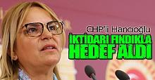 CHP'li Hancıoğlu iktidarı fındıkla hedef aldı