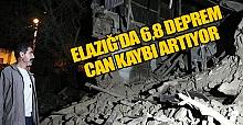 Elazığ'da deprem: 6,8