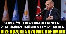 Cumhurbaşkanı Erdoğan`dan İDLİB değerlendirmesi