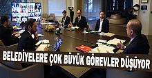Erdoğan, Belediyelere Çok Büyük Görevler Düşüyor