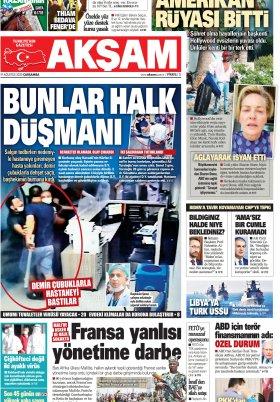 Bafra Haber | Samsun Haber  - 19.08.2020 Manşeti