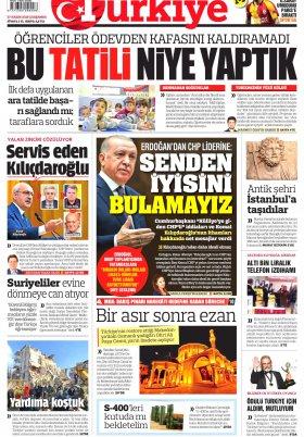 Bafra Haber | Samsun Haber  - 27.11.2019 Manşeti