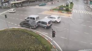 Mobeselere takılan Trafik Kazaları