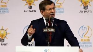 Ahmet Davutoğlu'ndan AK Parti kongresinde 'veda' konuşması