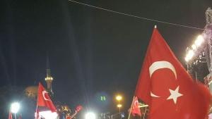 Bafra'da Cumhuriyet Bayramı yürüyüşü