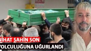 Sedat Şahin Kardeşinin cenazesine katıldı